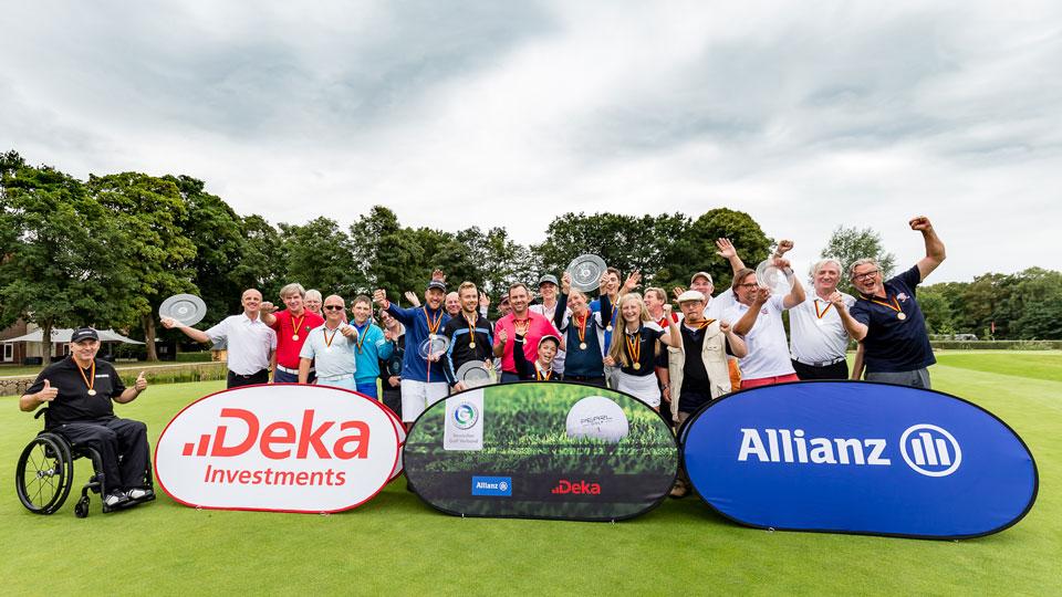Die Teilnehmer der Internationalen Amateurmeisterschaften für Golfer mit Behinderungen zeigten, dass man mit Beeinträchtigungen hervorragend Golf spielen kann. (Bild: DGV/Tiess)
