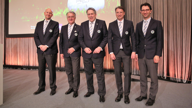 Präsidium DGV die Gewählten (Bild: DGV/Herlich)