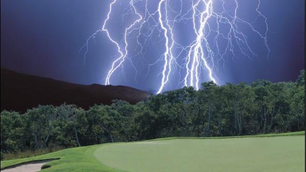 Golf und Gewitter (Bild:DGV)