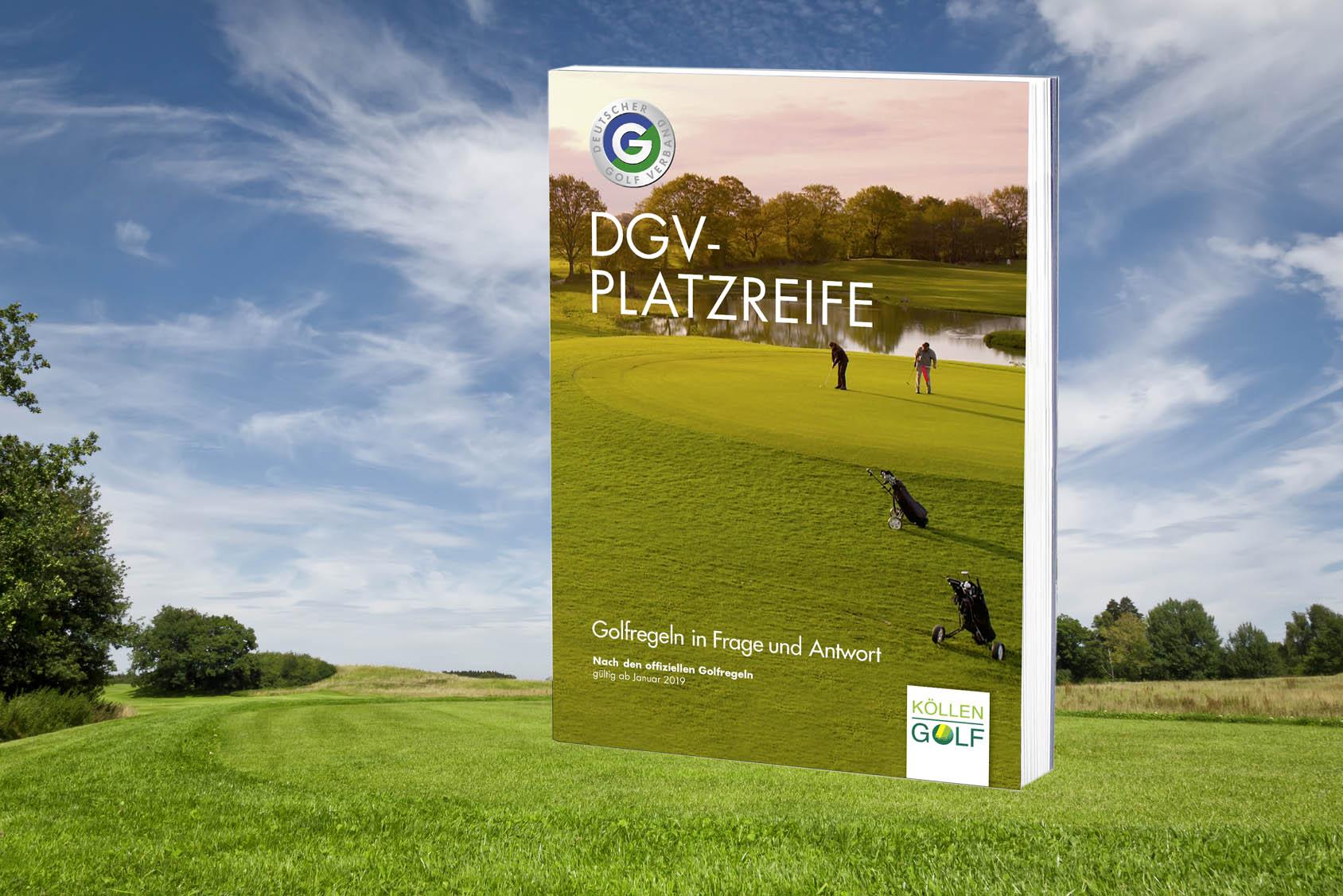 Jetzt zu bestellen: DGV-Platzreife - Golfregeln in Frage und Antwort