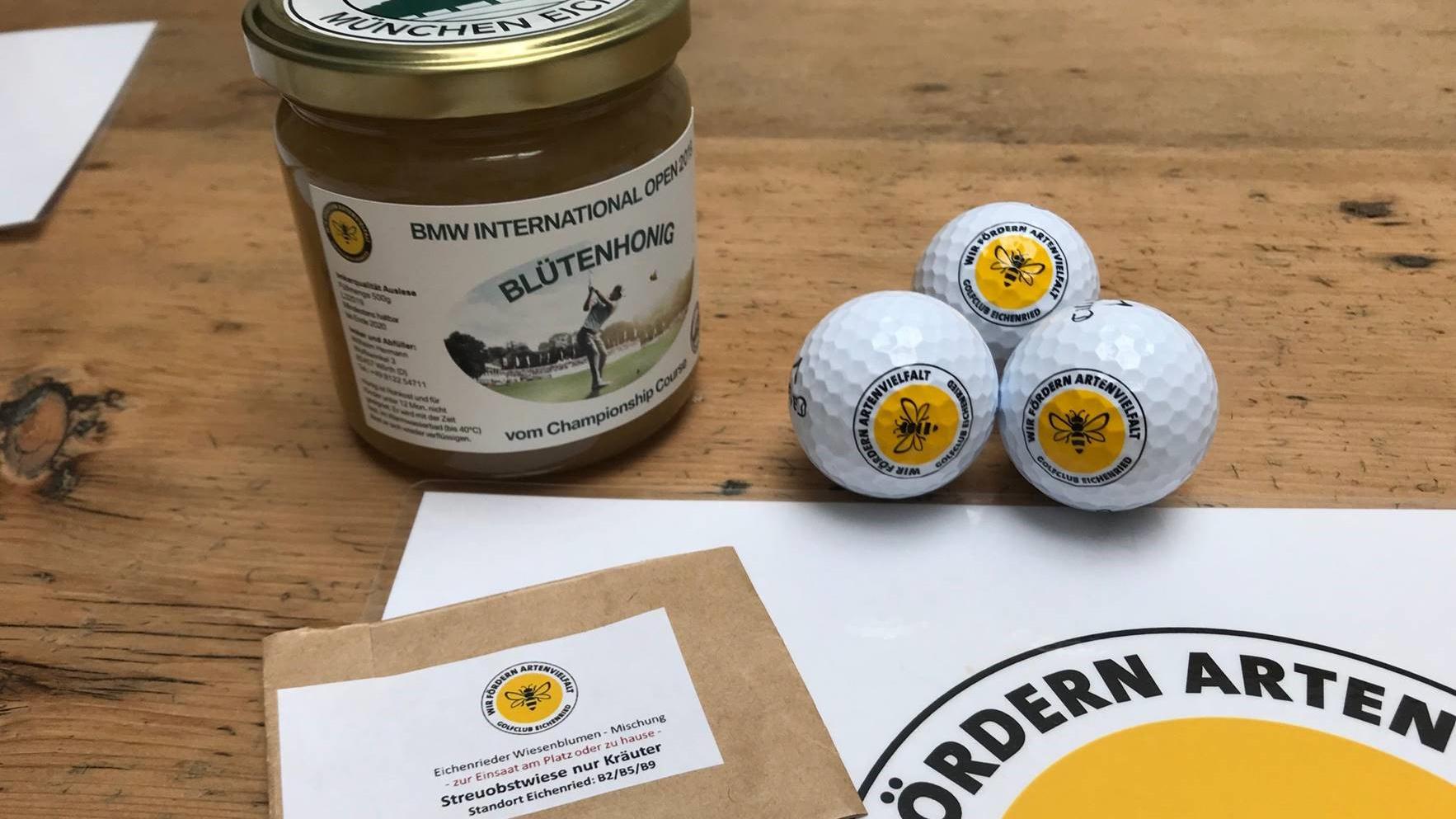 Honig Blüten Samensäckchen (Bild: GC München Eichenried))