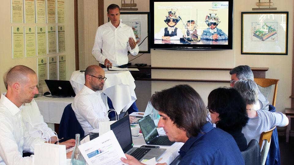 Jury-Sitzung des DGV-Innovationspreis 2019