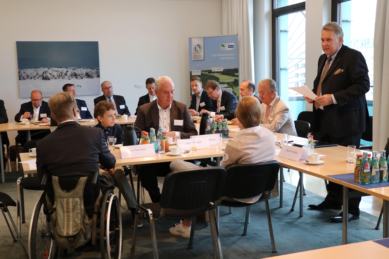 Parlamentarisches Frühstück des DGV in Berlin 2019. (Foto: DGV)