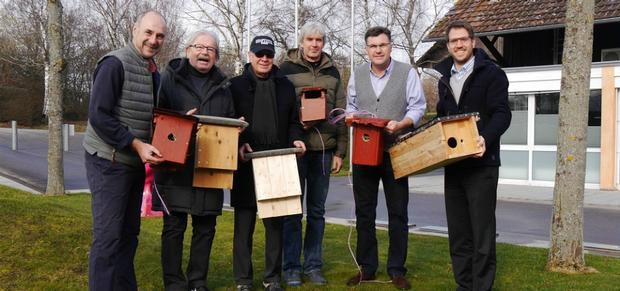 Das Golf&Natur Team im GCS besteht aus den Mitgliedern Peter Eble, Werner Ambrosch, Jens-Uwe Eberwein, Gernot Haug und Marc-Frederik Elsäßer