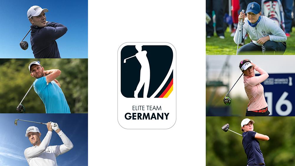 Das Elite Team (Bilder: golfsupport.nl)