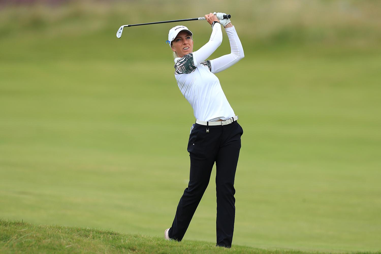 Sophia Popov ließ sich auf der Schlussrunde nicht aus der Ruhe bringen. (Foto: golfsupport.nl/R&A)