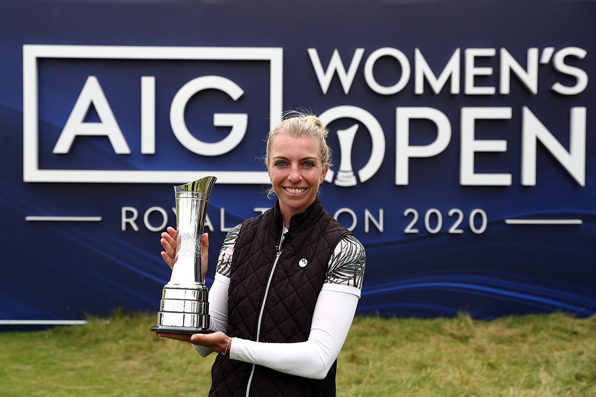 Sophia Popov gewinnt als erste Deutsche ein Major-Damenturnier