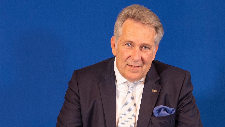 Claus M. Kobold, Präsident des Deutschen Golf Verbandes (DGV)