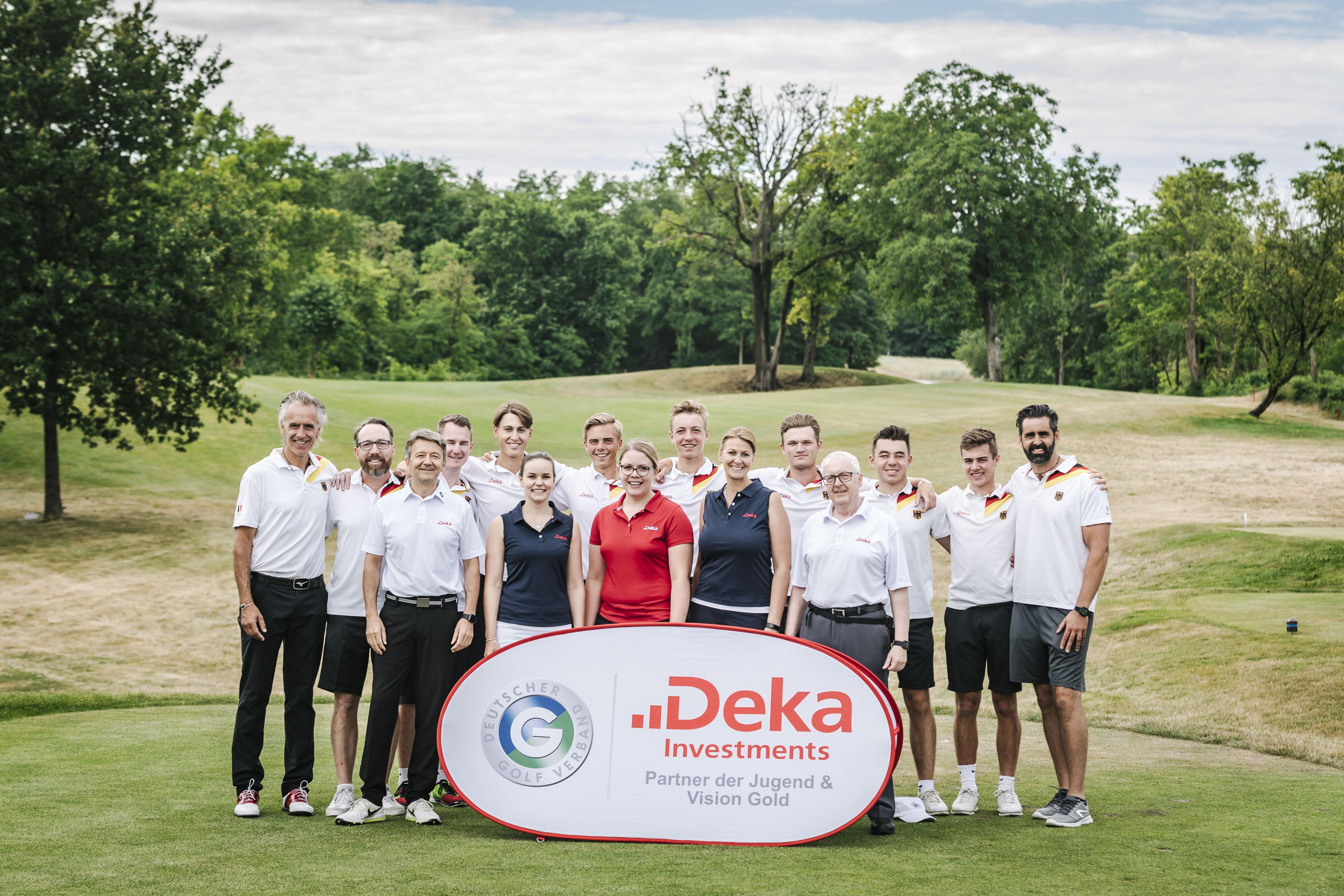 Das Junior Team Germany unterstützt von der Deka
