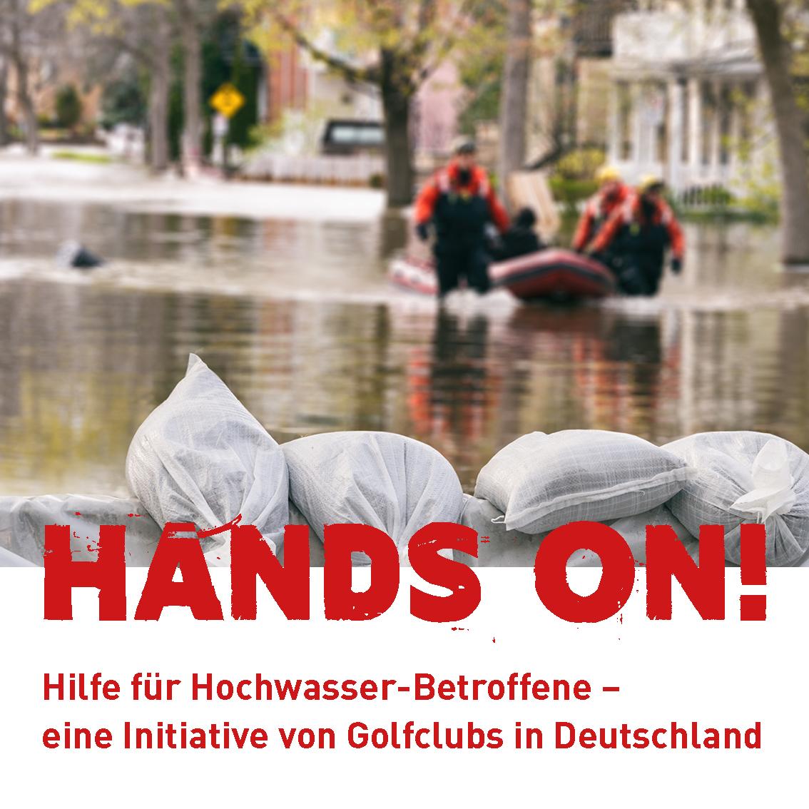 Hilfe für Hochwasserbetroffene - Social-Media 1:1