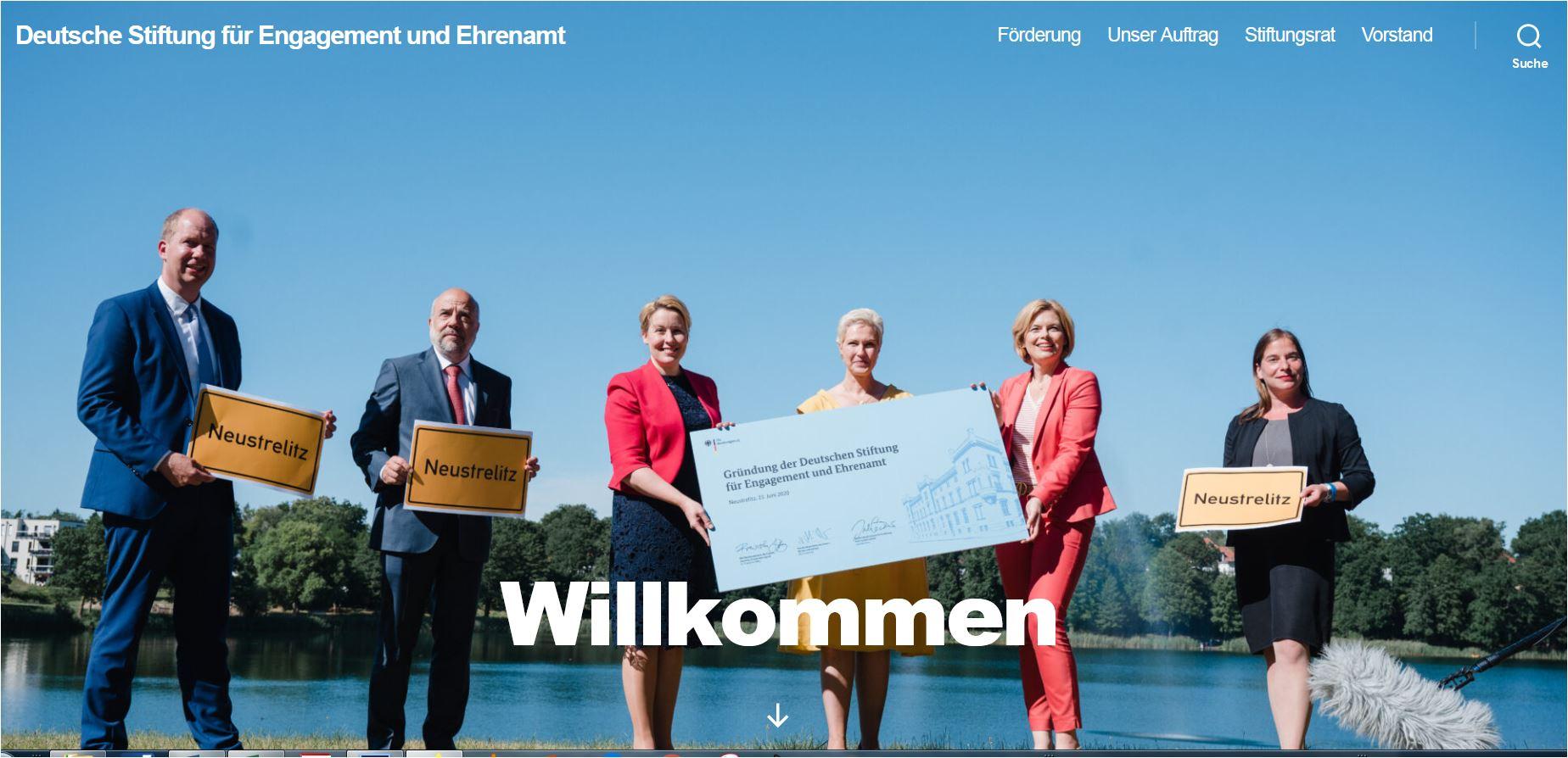 Hat ein umfangreiches und für gemeinnützige Golfclubs interessantes Förderprogramm aufgesetzt: Die Deutsche Stiftung für Engagement und Ehrenamt