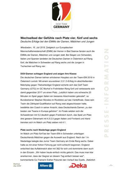 PM EMM-Nachbericht Damen, Maedchen, Jungen
