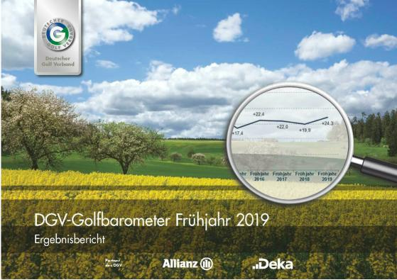DGV-Golfbarometer Frühjahr 2019