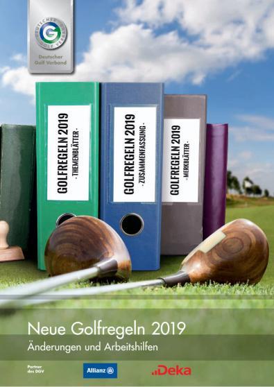 Themenblätter und Zusammenfassung neue Golfregeln