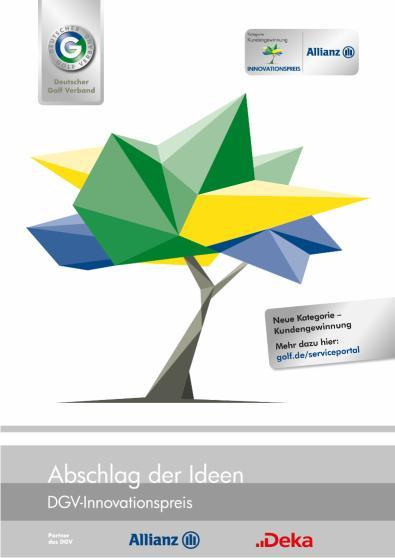 Ausschreibungsunterlagen für den DGV-Innovationspreis 2020